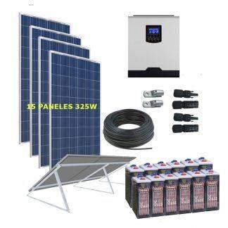 kit solar 5000W 24000WhDia