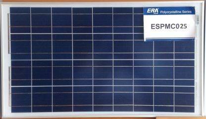PLACA SOLAR ESPMC 25W