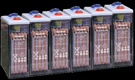 Bateria estacionaria  OPzS SOLAR 550 / 550 Ah C120