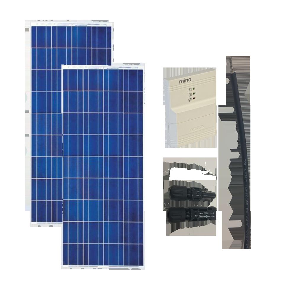 Kit Solar caravanas 1600Wh/día