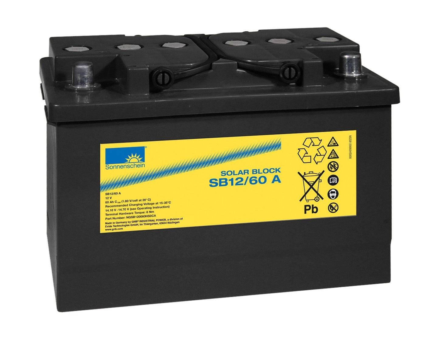 Bateria SB12/60A / 60Ah C100