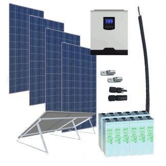 Kit solar 3000W 24V 6400WhDia