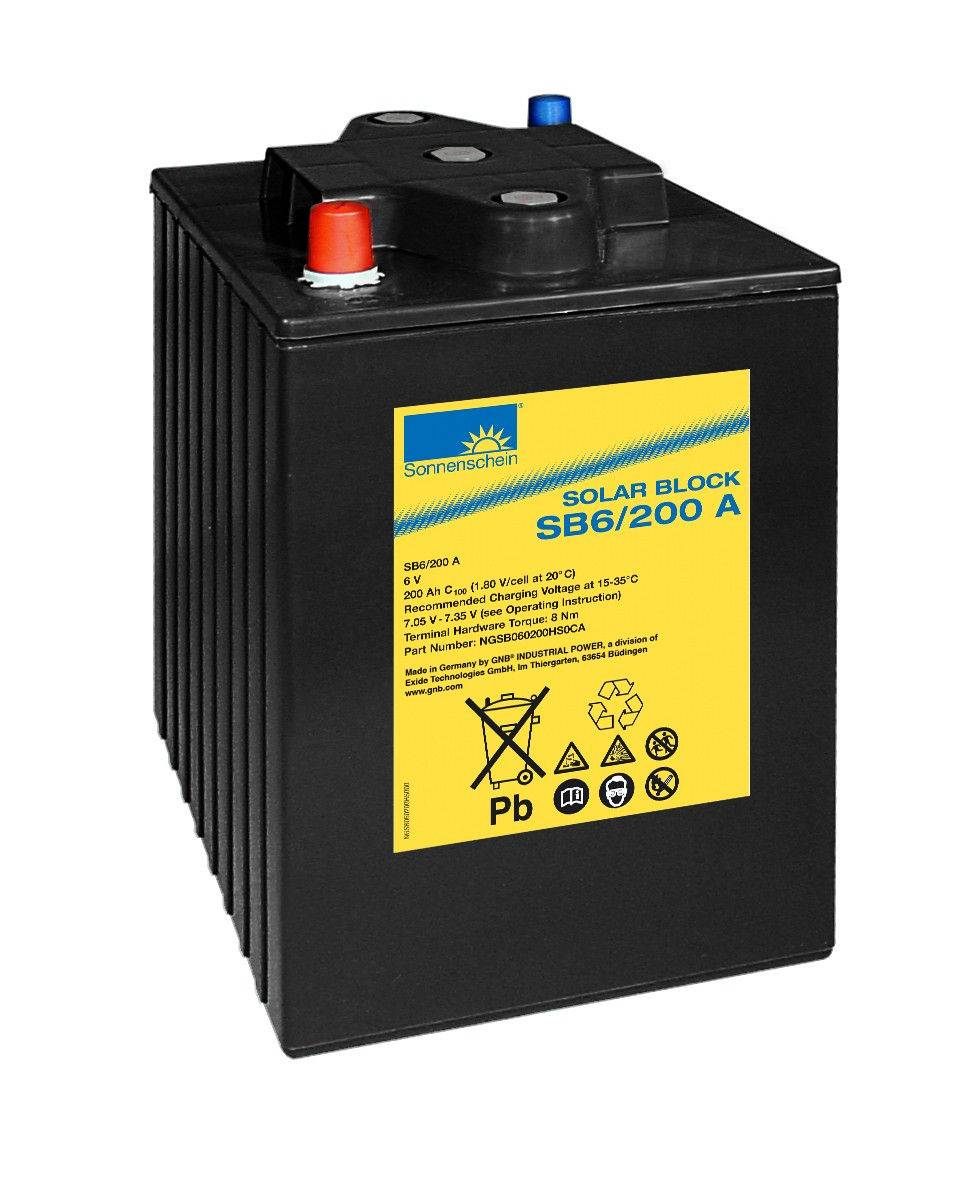 Bateria 2xSB6/200A / 200Ah C100