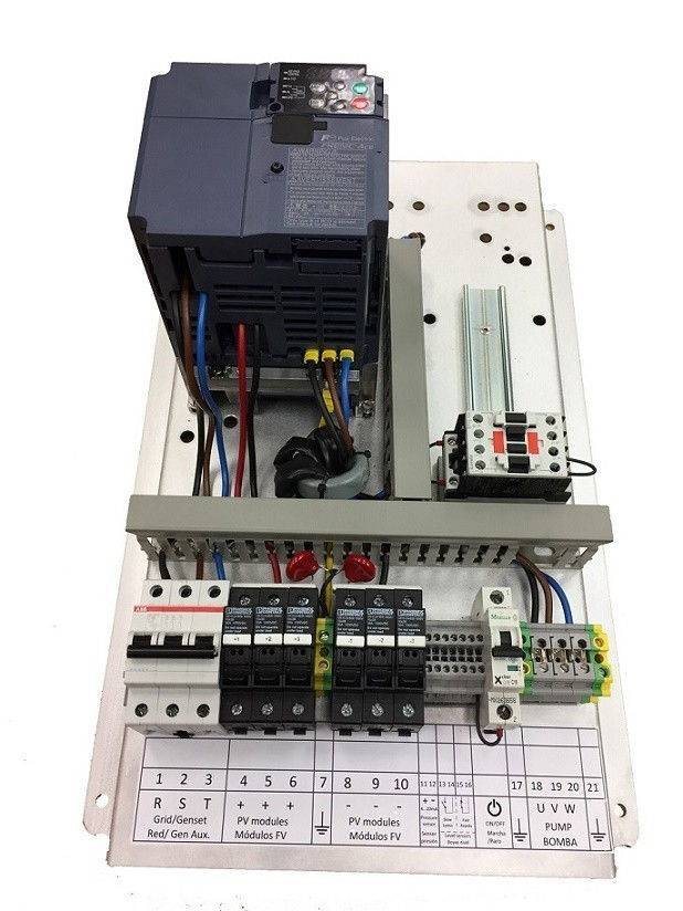 Bombeo solar ESP 3kW 230 IP20 F200