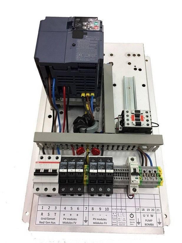 Bombeo solar ESP-3kW-400-IP20-F200