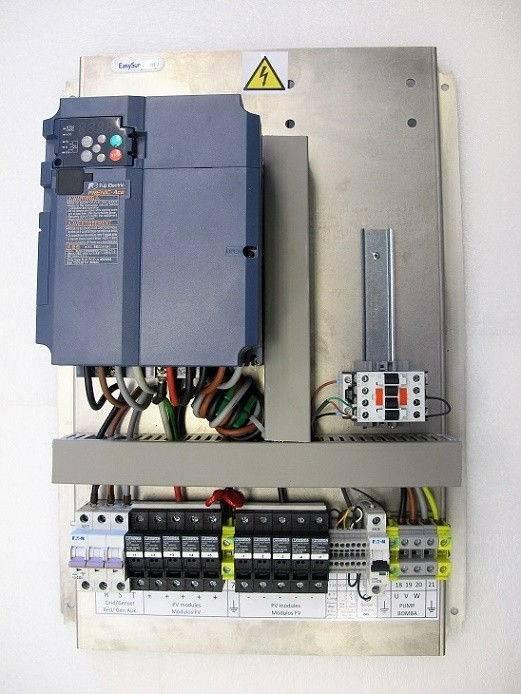 Bombeo solar ESP-7.5kW-400-IP20-F200
