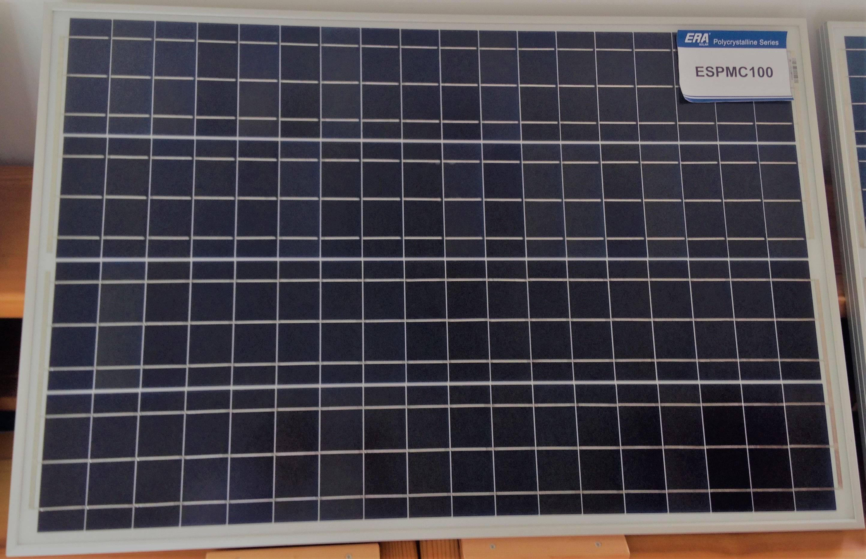 Panel Solar 100W 12V - Placa Solar ESPMC100