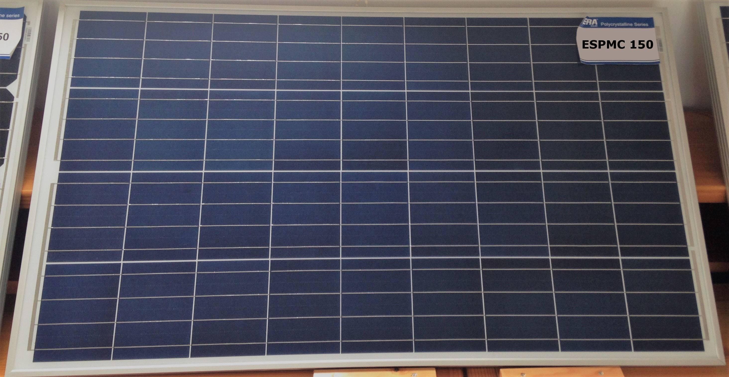 Panel Solar 150W 12V - Placa Solar ESPMC150