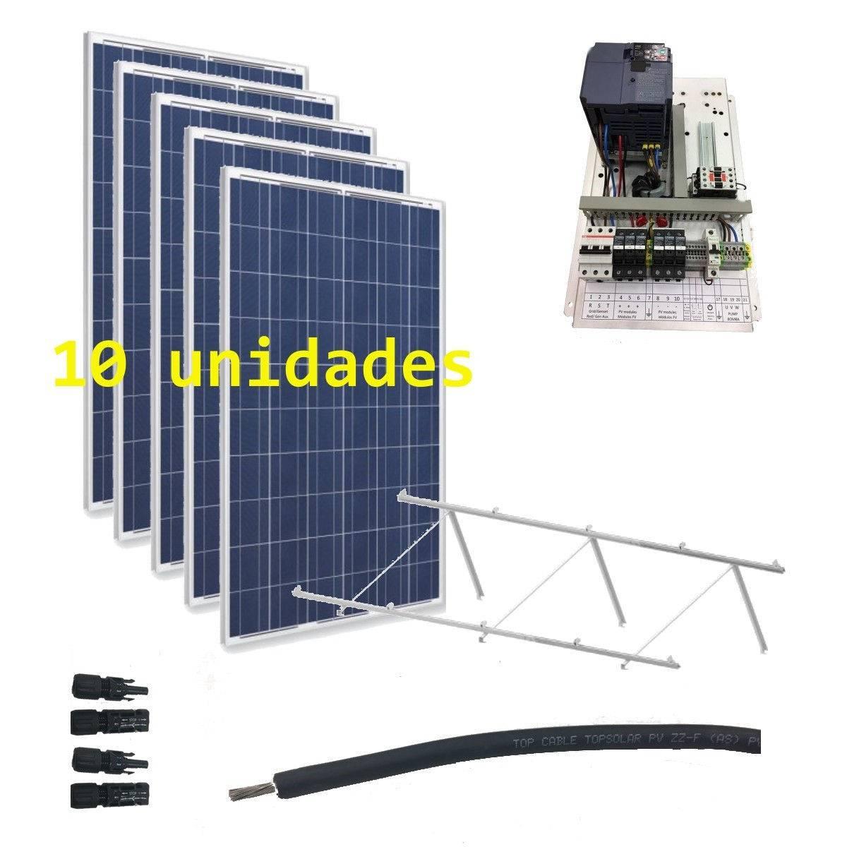 Kit Bombeo solar 230V hasta 2.2kW de bomba (IP20)