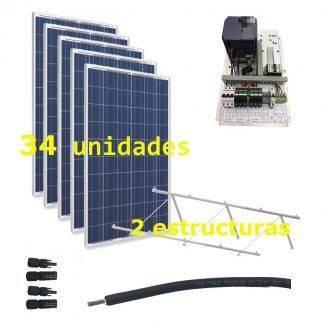 Bombeo solar 400V hasta 7.5kW de bomba (IP20)