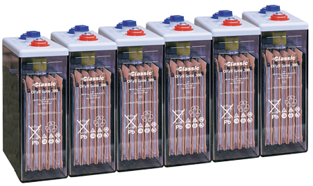 Bateria estacionaria  OPzS SOLAR 190 / 190 Ah C120