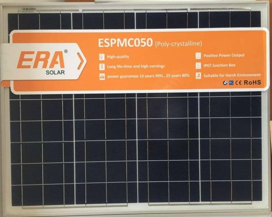 Panel Solar 50W 12V - Placa Solar ESPMC50
