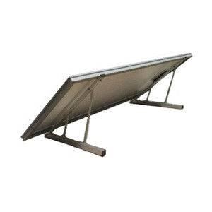 Estructura A1 para montaje de 1 panel solar 12V