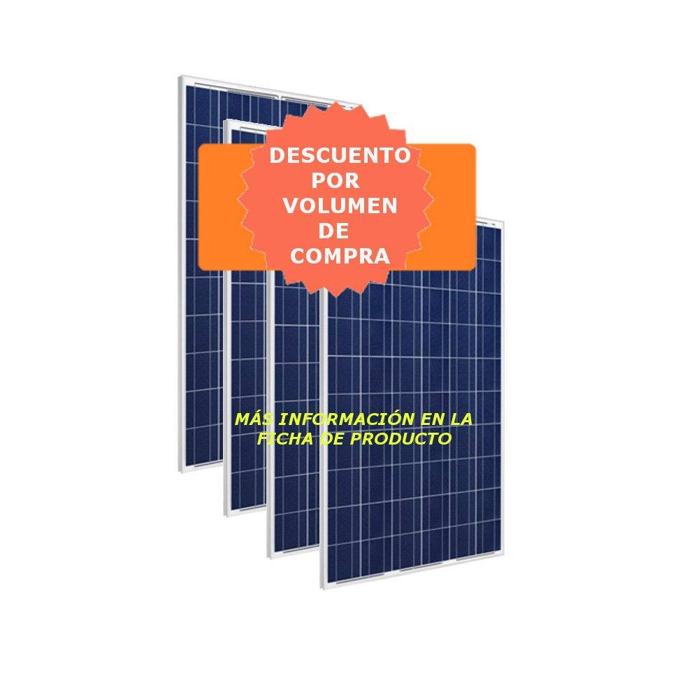 Panel Solar 280W 60 células - Placa Solar ATERSA A-280P GS