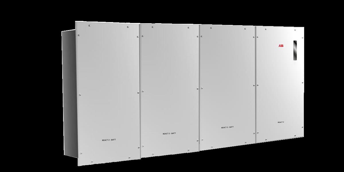 Inversor Cargador ABB REACT2 5.0-TL con 3 baterías REACT2-BATT-AP1