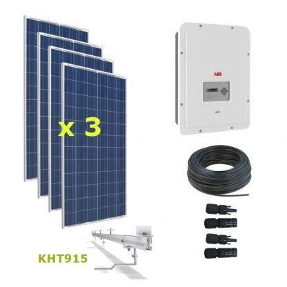 Kit Solar Autoconsumo Directo 1kWp - ABB UNO 1.2