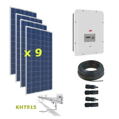 Kit Solar Autoconsumo Directo 3kWp - ABB UNO 3.3