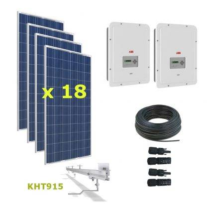 Kit Solar Autoconsumo Directo 5,94kWp - ABB UNO 3.3 y 2.0