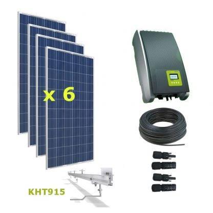 Kit Solar Autoconsumo Directo 2kWp - Kostal 1.5MP