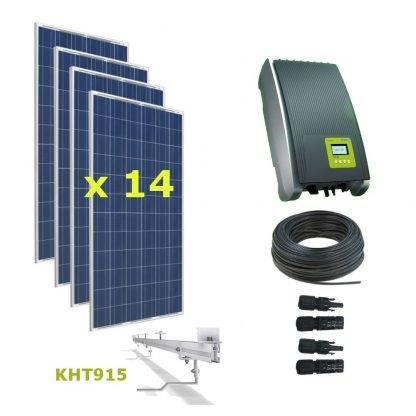 Kit Solar Autoconsumo Directo 4,62kWp - Kostal 4.2MP