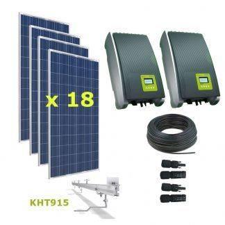 Kit Solar Autoconsumo Directo 5,90kWp - Kostal 3.0MP y 2.0MP