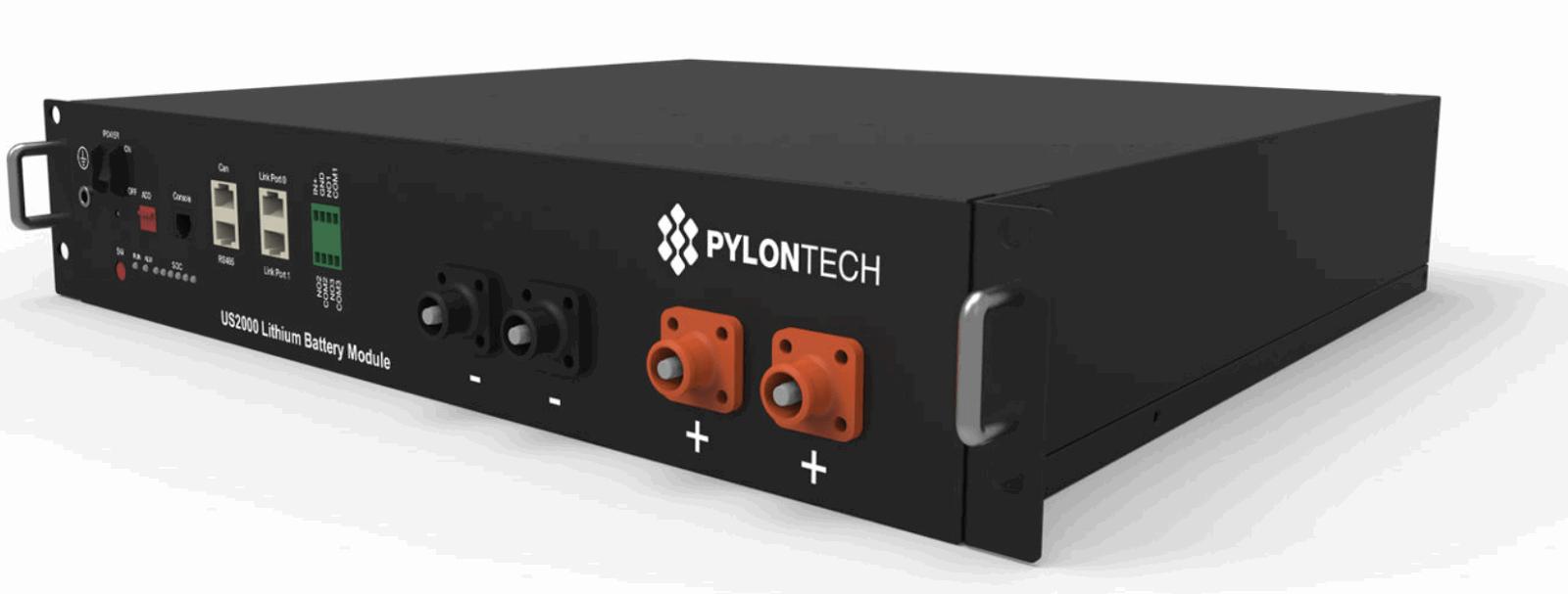 Batería de Litio - Pylontech US2000B PLUS 2.4kWh 48V