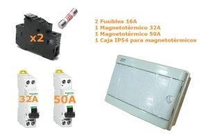 Conjunto de protecciones para Kit Solar Estándar