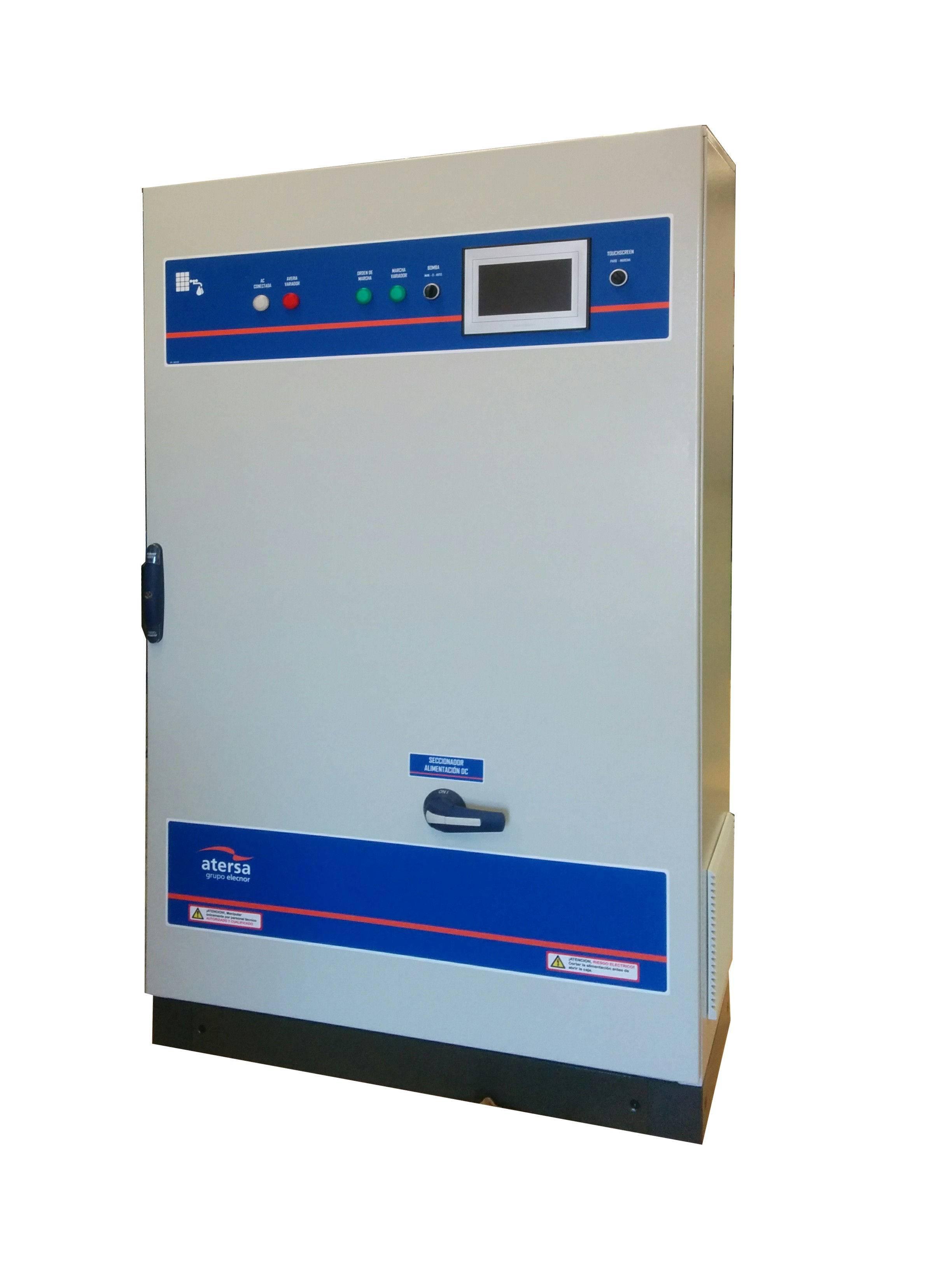 Bombeo ESP 55/400 55kW 400V IP54 en armario con Display y filtros ACR y DCR + PUESTA EN MARCHA
