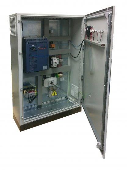 Bombeo ESP 55/400 55kW 400V IP54 en armario ABIERTO