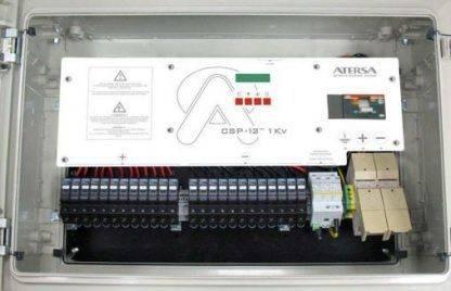 Componentes Caja CSP12 1kW