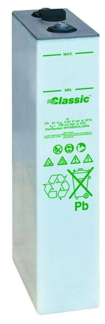 Bateria estacionaria  6.10 Enersol T  1250 / 1282 Ah C120 Vaso individual