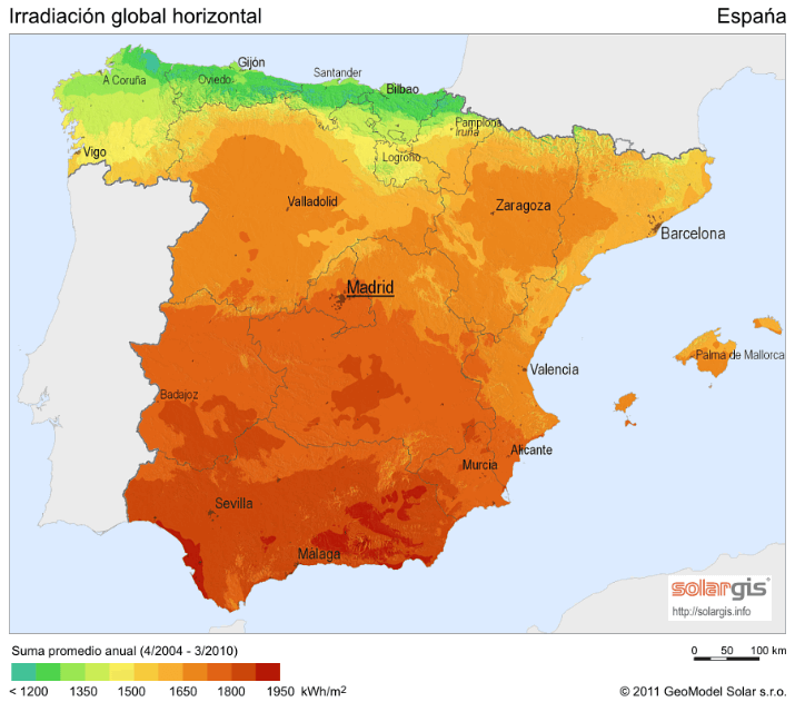 irradiación-global-horizontal-espana