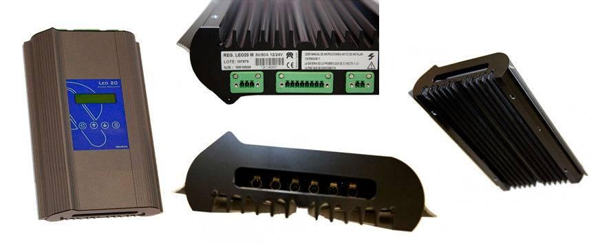 Regulador de Carga Solar PWM