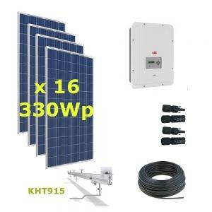Kit Solar Autoconsumo Directo 5kWp - ABB UNO 5.0