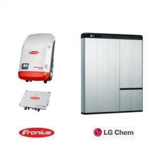 Fronius Symo Hybrid 5.0.3-S + LG Resu 10H