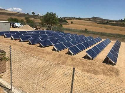intalacion placas solares huesca