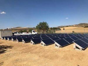 Instalación de Bombeo Solar en Almudevar (Huesca)
