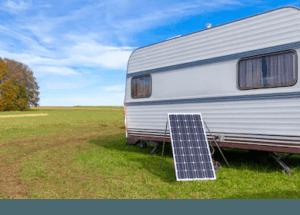 ¿Cómo funciona la energía solar en una caravana?