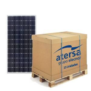Palet de 25 uds de Placa solar 370W A-370M ATERSA GS
