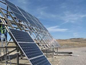 tipos de estructuras para paneles solares