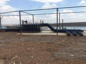 imagen de instalacion de bombeo solar en zaragoza
