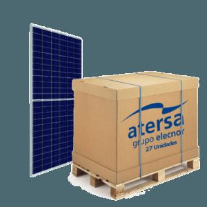 Palet de 27 uds de Panel Solar 410W A-410M ATERSA GS