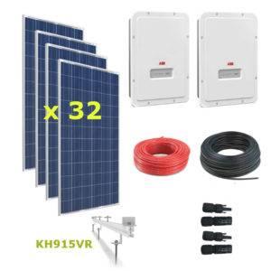 Kit Solar Autoconsumo Directo 10kWp - ABB UNO 5.0