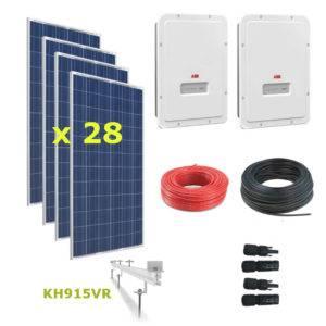 Kit Solar Autoconsumo Directo 9kWp - ABB UNO 5.0