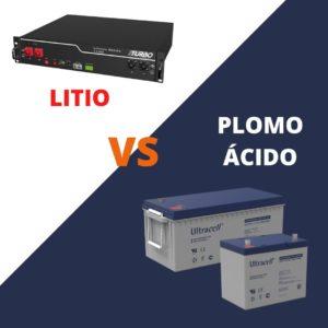 baterías de plomo ácido o litio - atersa